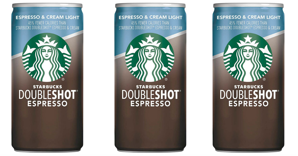 Starbucks Doubleshot Espresso 12-Pack ONLY $8.37 Shipped