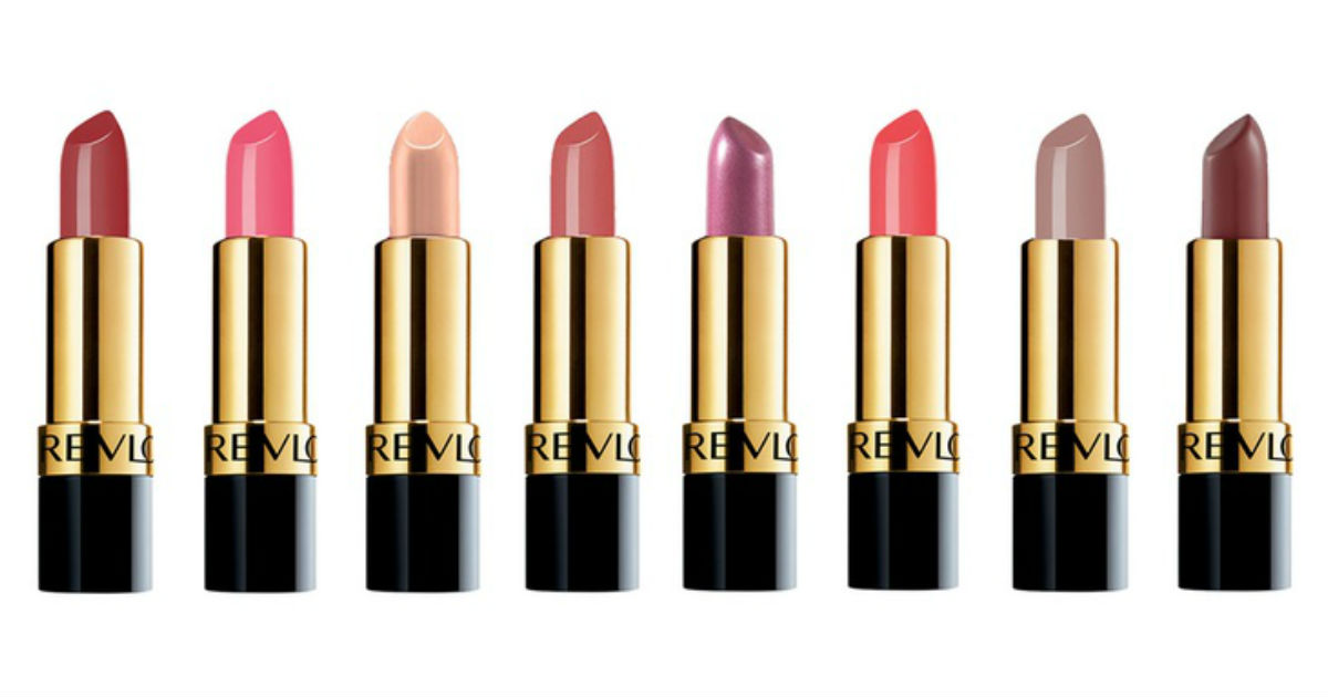 Revlon Super Lustrous Lipstick Only $2.27 at Walmart (Reg $10)