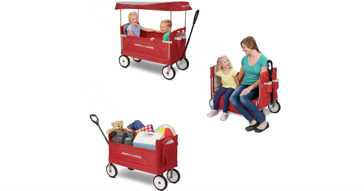 Radio Flyer 3-In-1 Folding Wagon ONLY $79.99 Shipped (Reg $110)
