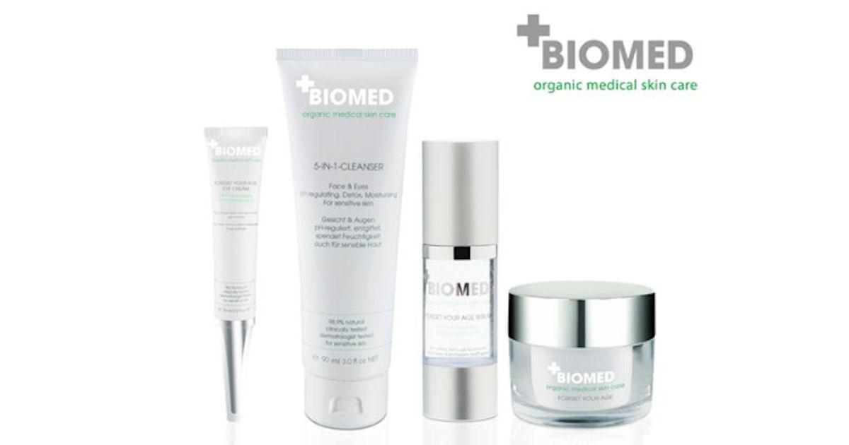 FREE Biomed Organics Skincare.