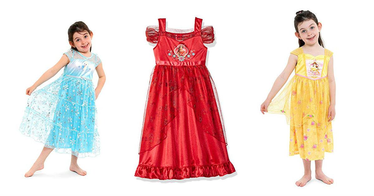 Disney Girls Fantasy Nightgowns ONLY $10 (Reg. $25)