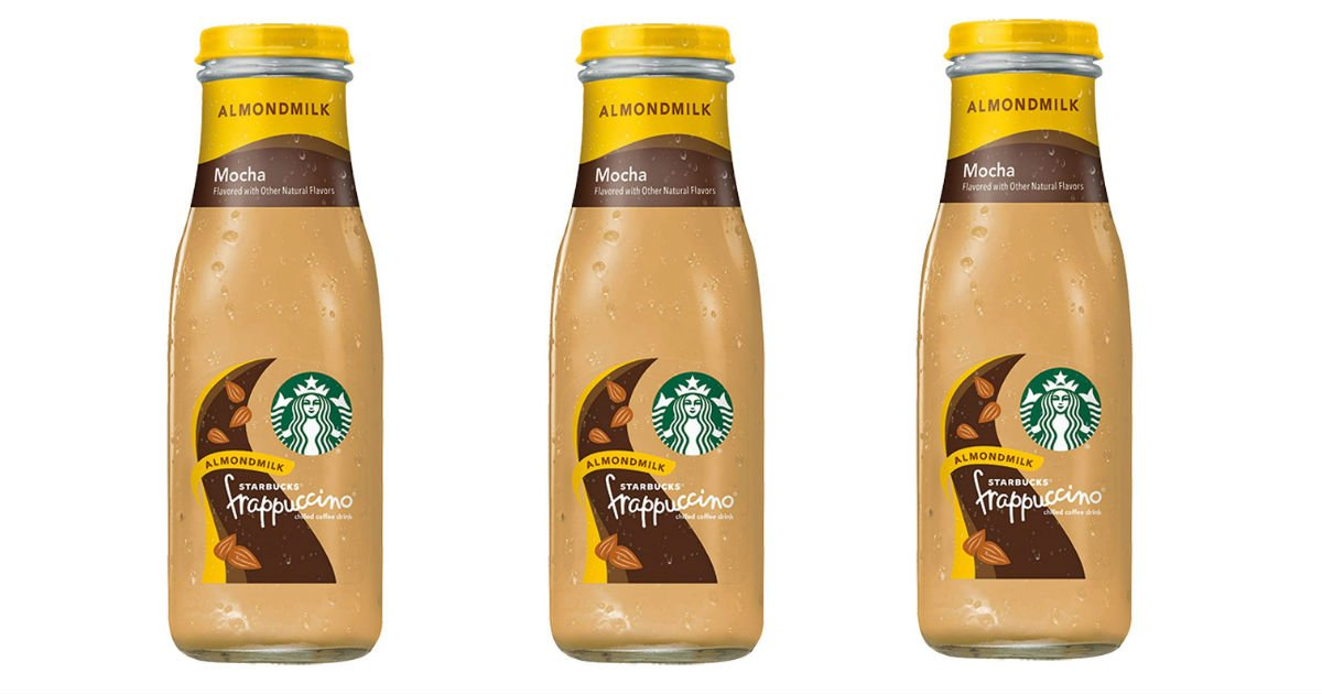 Save Over 30% on Starbucks Frappuccino Drinks on Amazon
