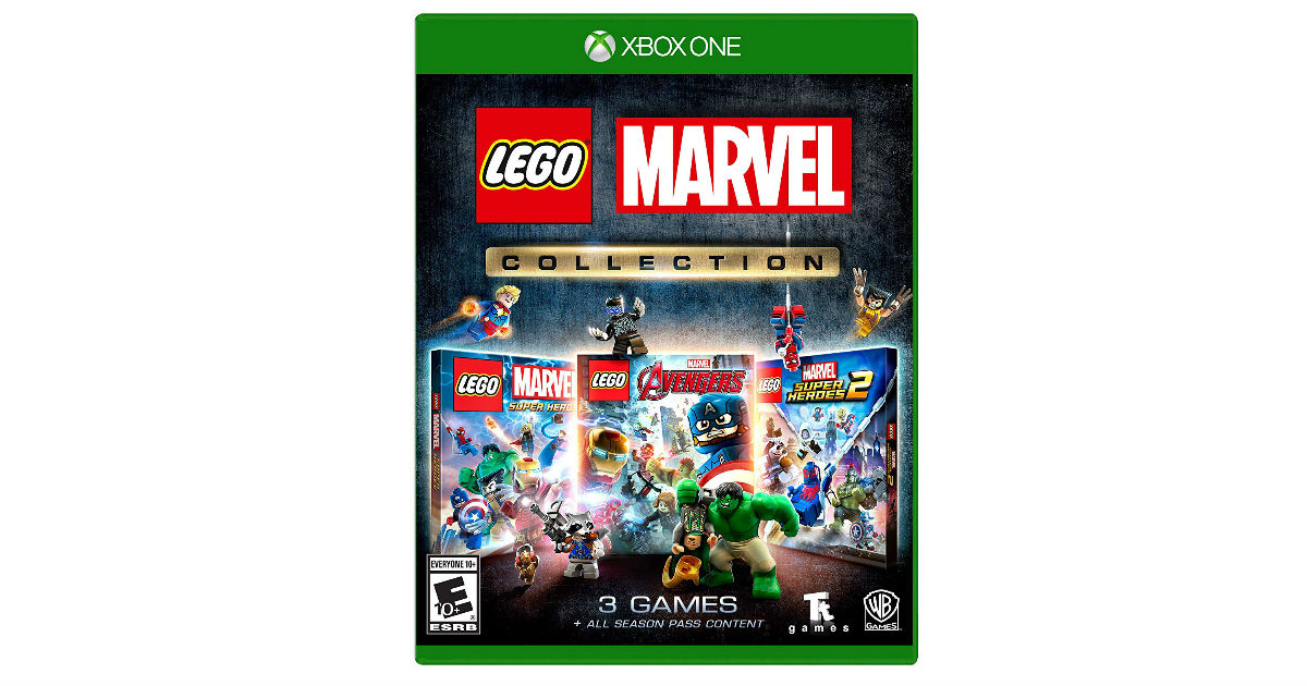 LEGO Marvel Collection for Xbox One ONLY $19 99 (Reg  $60
