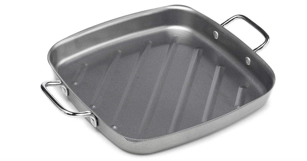 Bull 11-Inch Non-Stick Grill Pan ONLY $14.98 (Reg. $30)