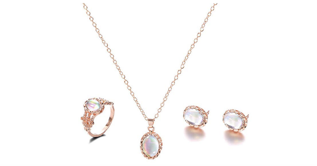 Beautiful Dazzling Gem Jewelry Set ONLY $1.99 Shipped