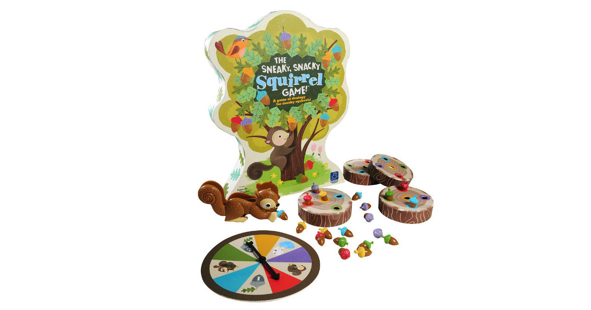 The Sneaky, Snacky Squirrel Game ONLY $9.99 (Reg. $22)