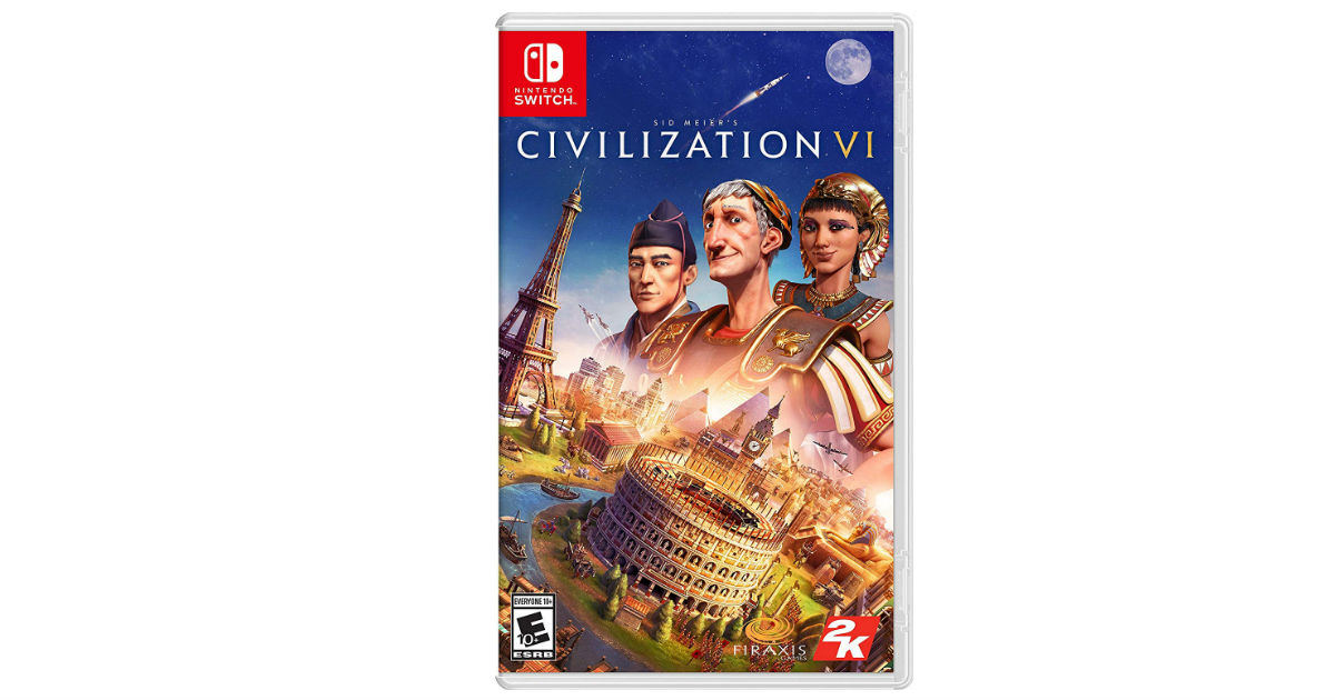 Civilization VI - Nintendo Switch ONLY $29.99 (Reg. $60)