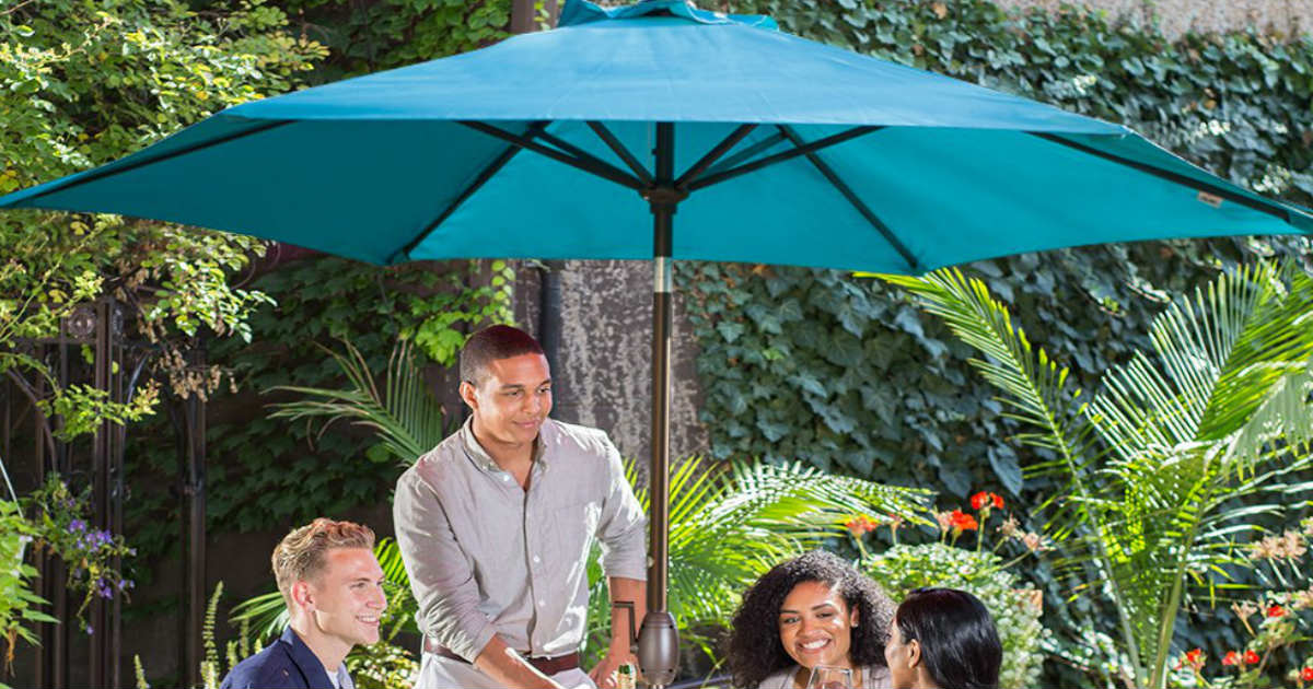 Abba Patio 9-Feet Table Umbrella ONLY $41.39 (Reg. $69)