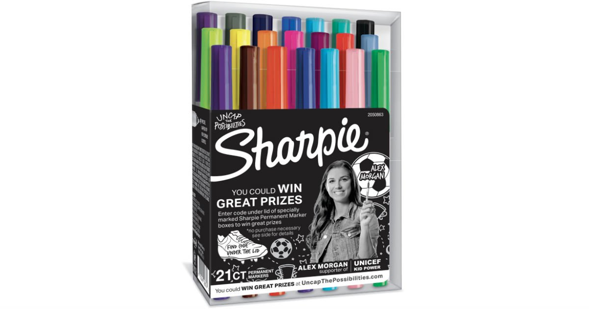 Sharpie Ultra Fine Point Markers 21-ct ONLY $7.99 (Reg $35.12)