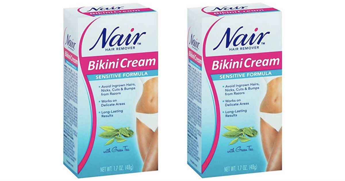 Nair Bikini Cream ONLY $3.49 at CVS (Regularly $6)
