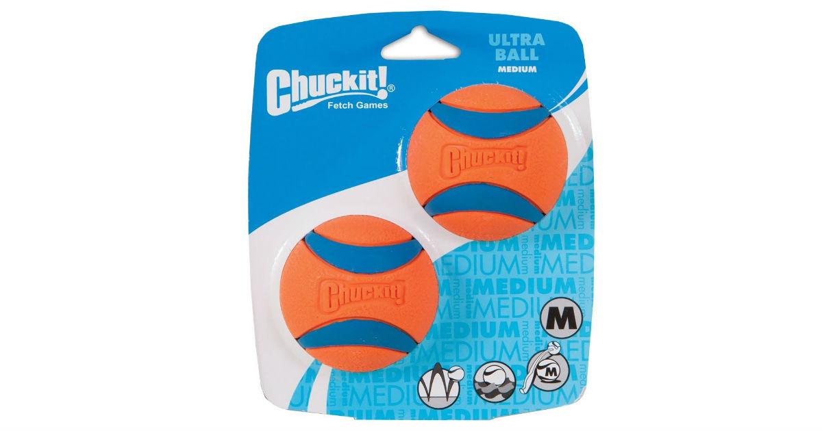 Chuckit! Ultra Ball ONLY $4.49 on Amazon (Reg. $11)
