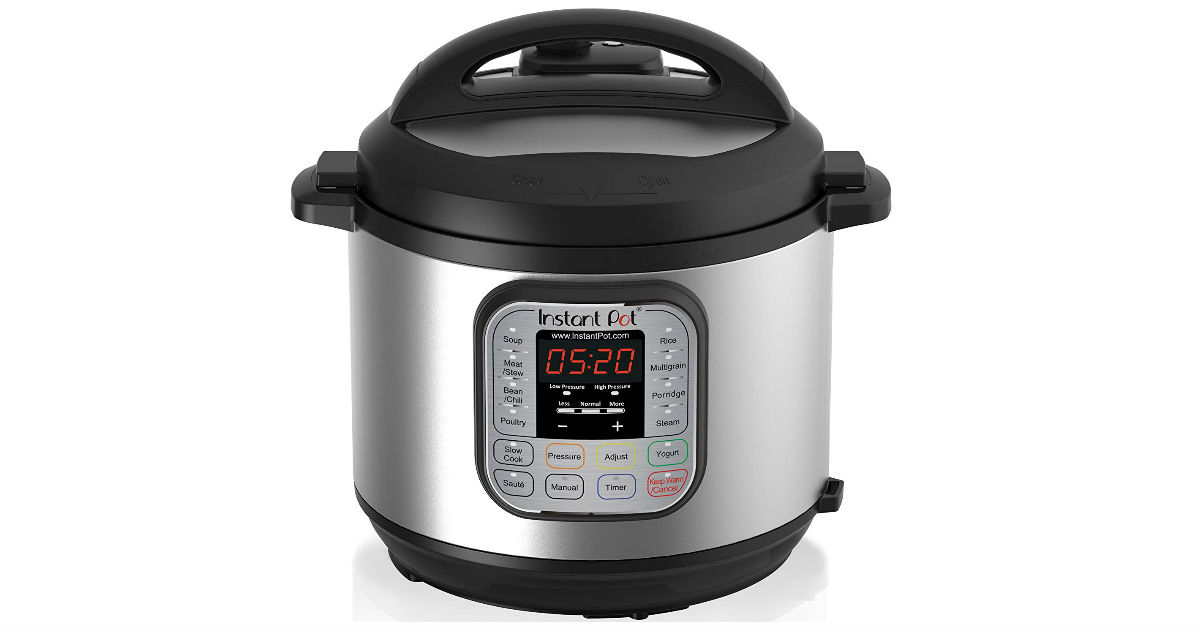 Instant Pot Duo 6-Quart 7-in-1 ONLY $49.99 (Reg. $100)