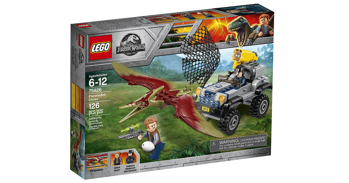 LEGO Jurassic World Pteranado Kit ONLY $11.99 (Reg. $20)