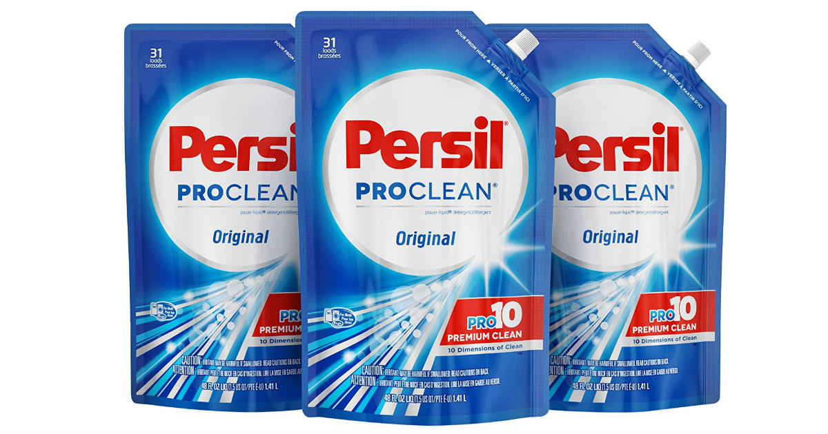 Persil Liquid Laundry Detergent 3-Pack ONLY $16.38 Shipped