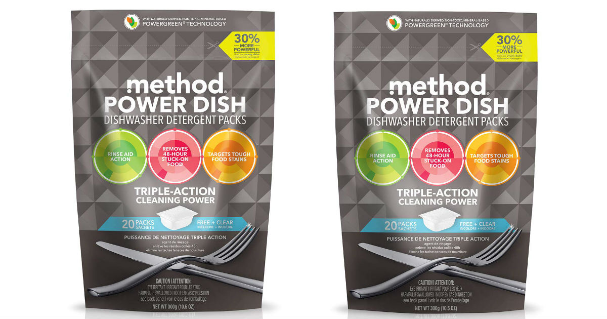 Method Dishwasher Detergent ONLY $2.84 (Reg. $5)