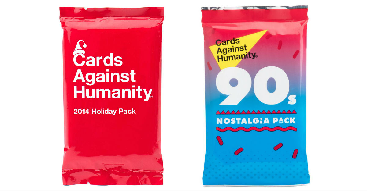 50% Off Cards Against Humanity Expansion Packs