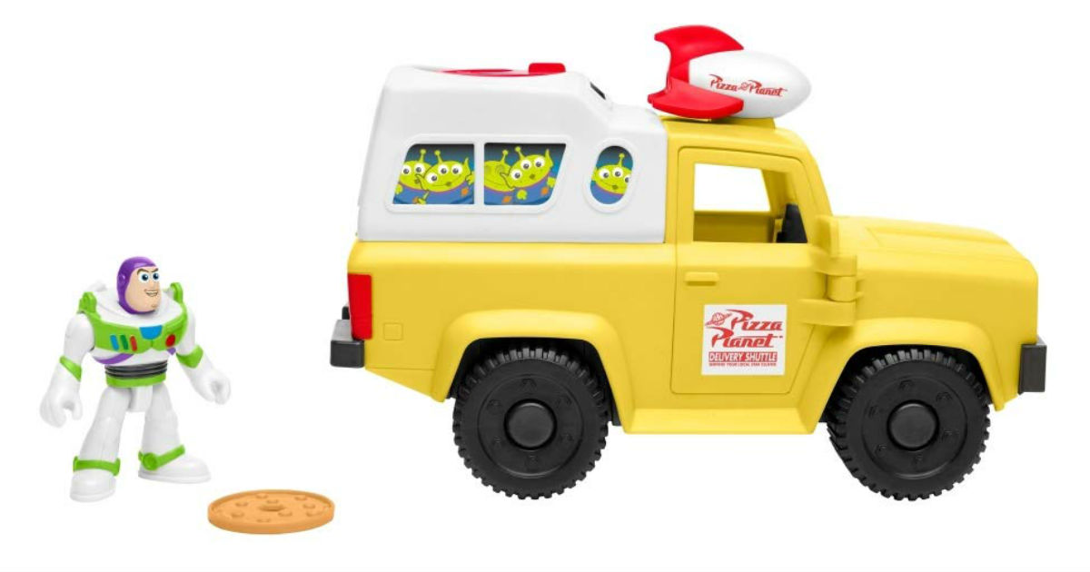 Fisher-Price Buzz Lightyear & Pizza Truck ONLY $7.49 (Reg. $16)