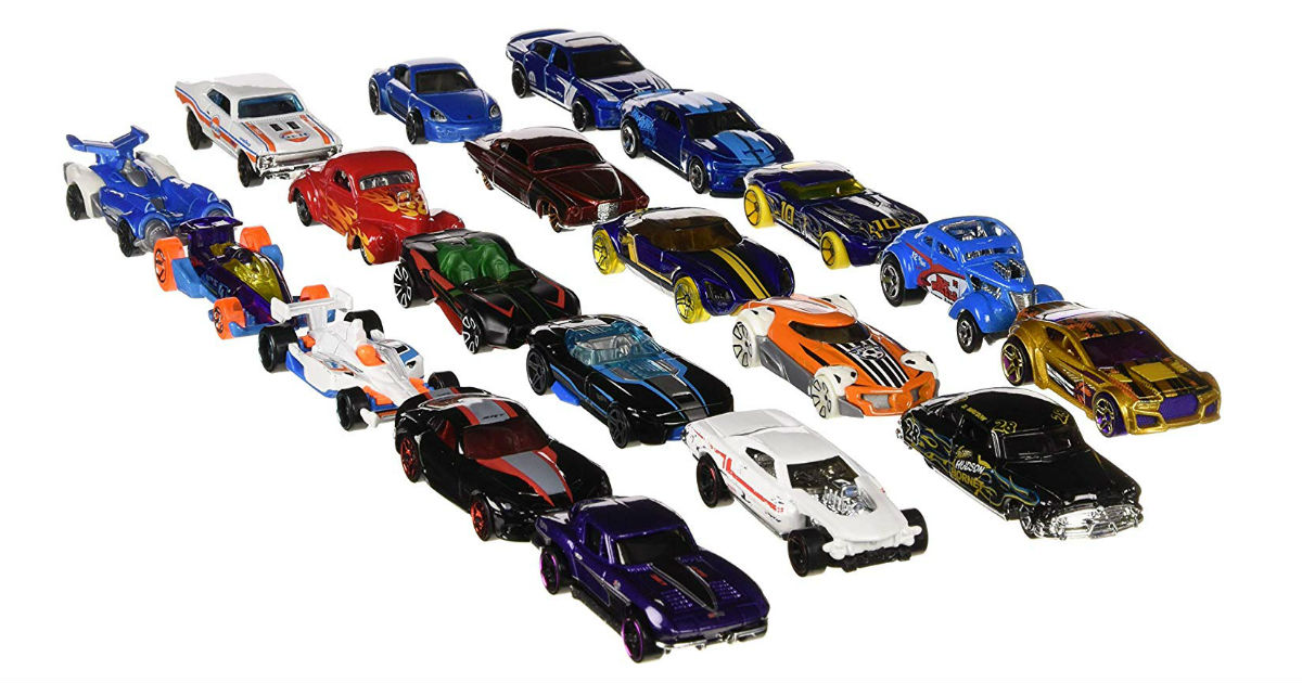 Hot Wheels 20-Pack ONLY $12.99 on Amazon (Reg. $22)