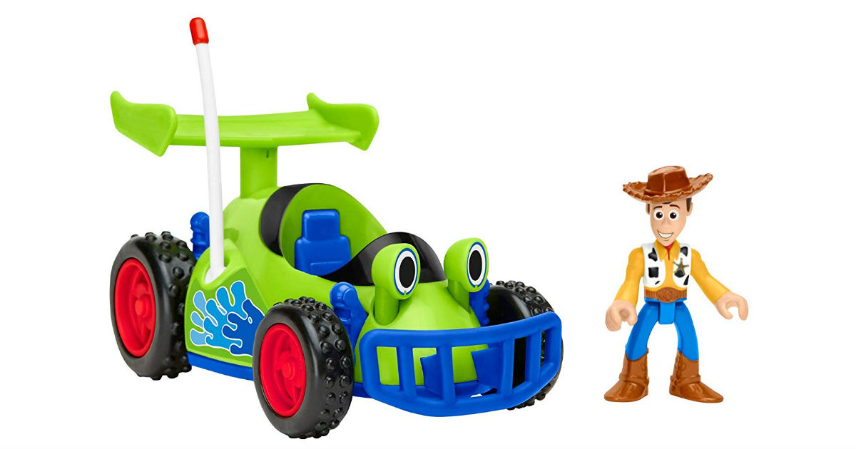 Fisher-Price Disney Toy Story R/C & Woody ONLY $7.49 (Reg. $16)