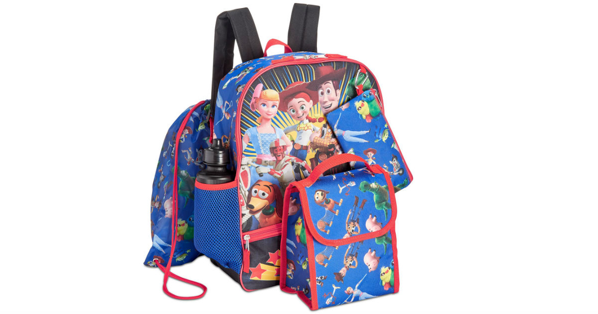 Toy Story Graphic Backpack Set ONLY $15.99 (Reg $40)