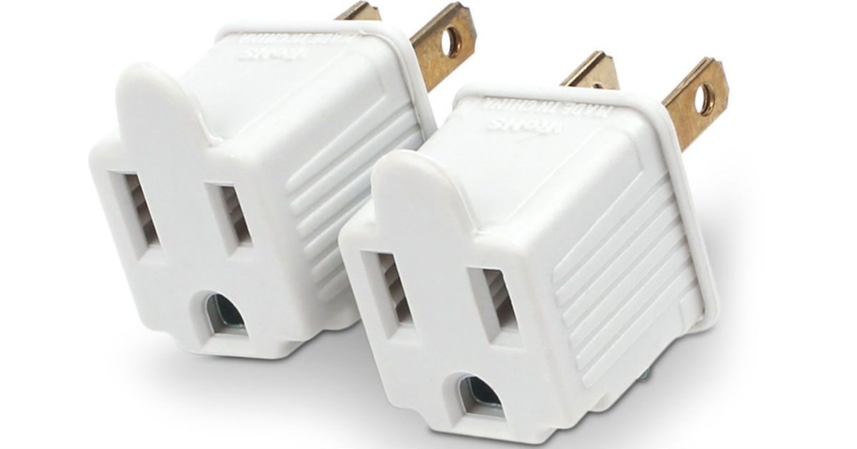 CyberPower Grounding Adapters 2-Pack ONLY $1.45 (Reg $4)
