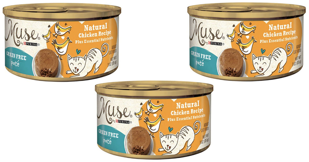 Muse by Purina Grain-Free Cat Food 24-Pack ONLY $11.04 Shipped
