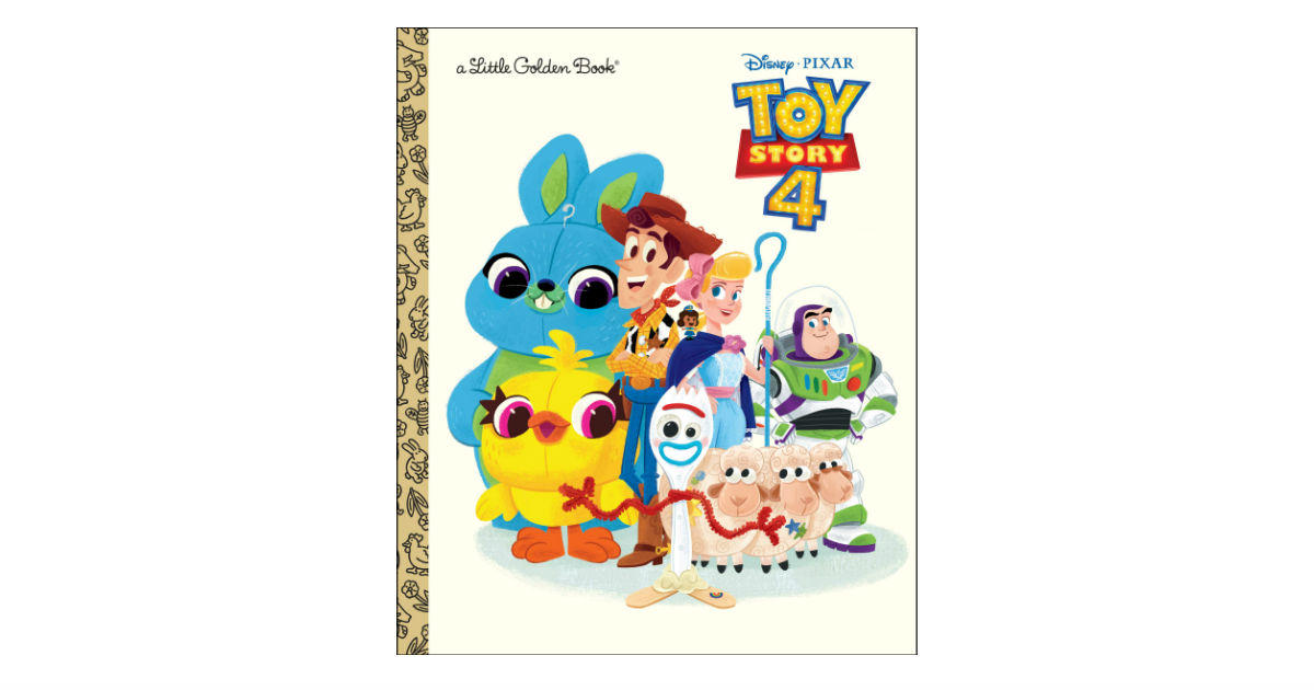 Toy Story 4 Little Golden Book ONLY $2.99 on Amazon