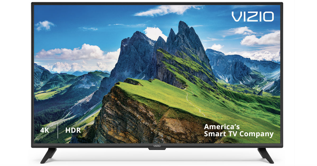 VIZIO 65-In Class 4K Ultra HD Smart LED TV ONLY $449.99 Shipped