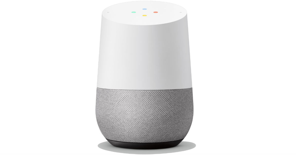 Google Home at Walmart