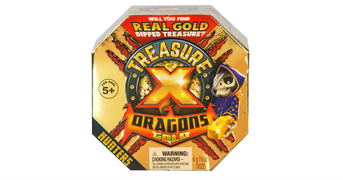 Treasure X Quest for Dragons Gold on Amazon