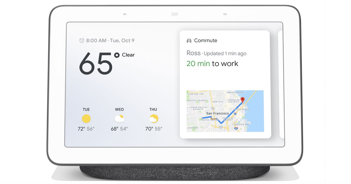 Google Nest Hub - Charcoal ONLY $79 (Reg $149)