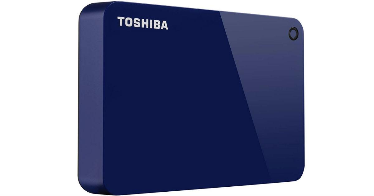 Toshiba 4TB Portable External Hard Drive ONLY $76.99 (Reg $115)