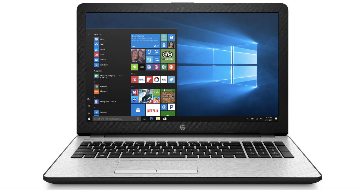 HP Laptop 15.6-in Intel Core i3, 4GB RAM 1TB ONLY $269 (Reg $399)
