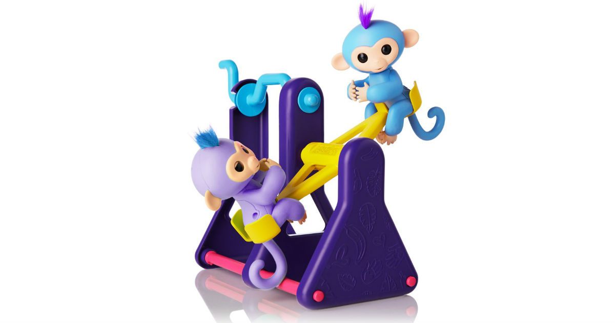 WowWee Fingerlings See-Saw Playset on Amazon