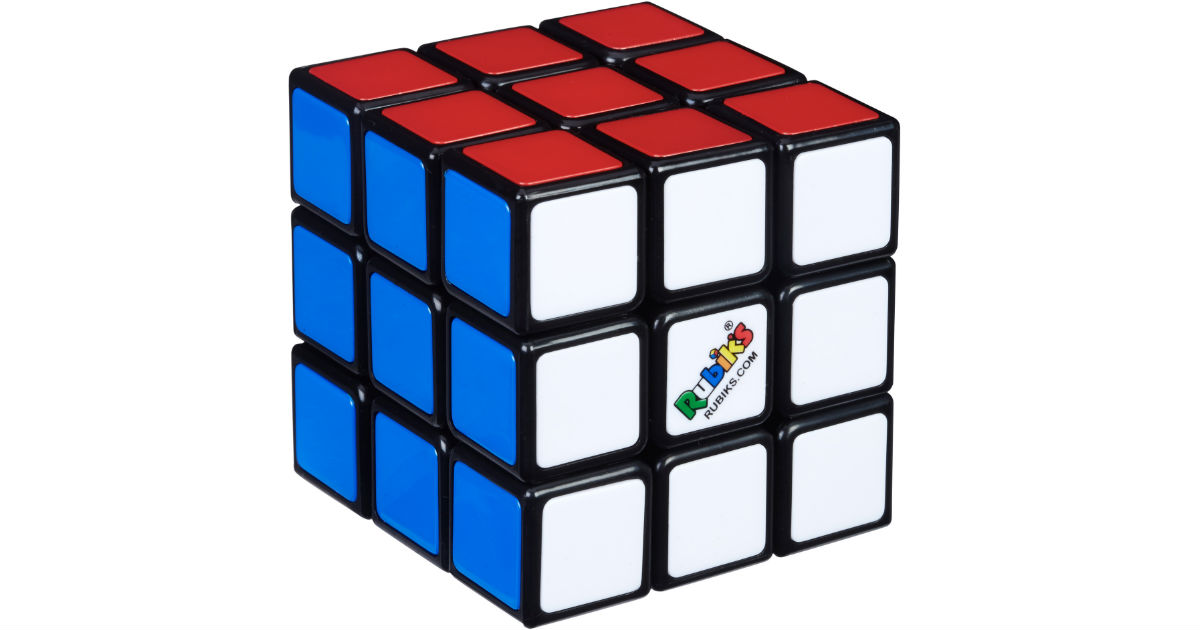 Rubik's Cube Puzzle Game ONLY $4.49 (Reg $10) at Walmart