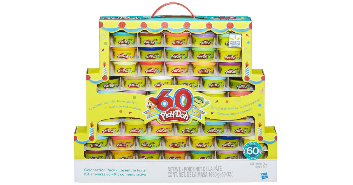Play-Doh 60th Anniversary 60 Pack ONLY $14.99 (Reg $30)
