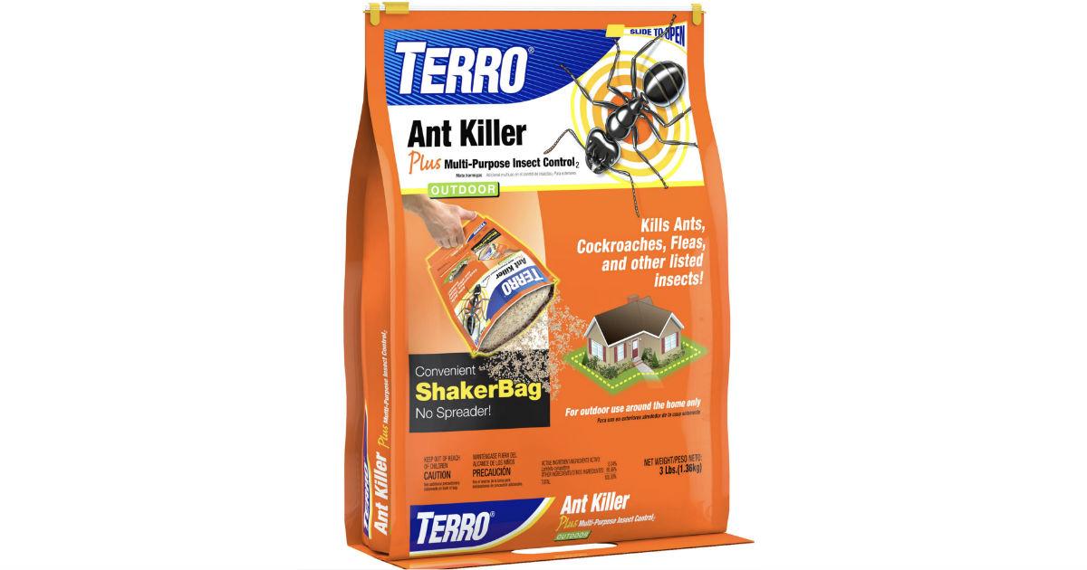 Terro Outdoor Ant Killer, 3 lbs ONLY $4.88 (Reg $8.10)