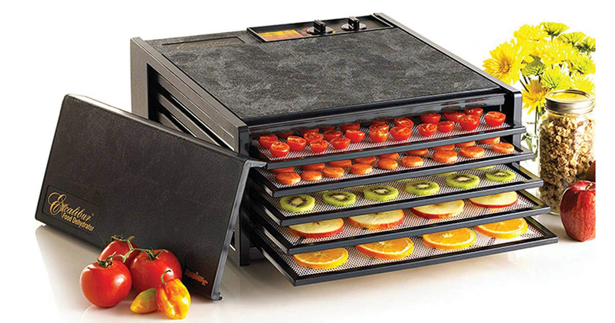 Excalibur Electric Food Dehydrator ONLY $149.99 (Reg. $300)