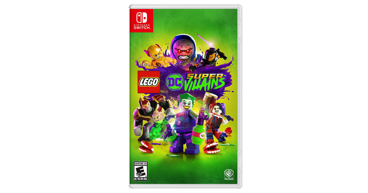 LEGO DC Super-Villains Nintendo Switch ONLY $19.99 (Reg. $50)