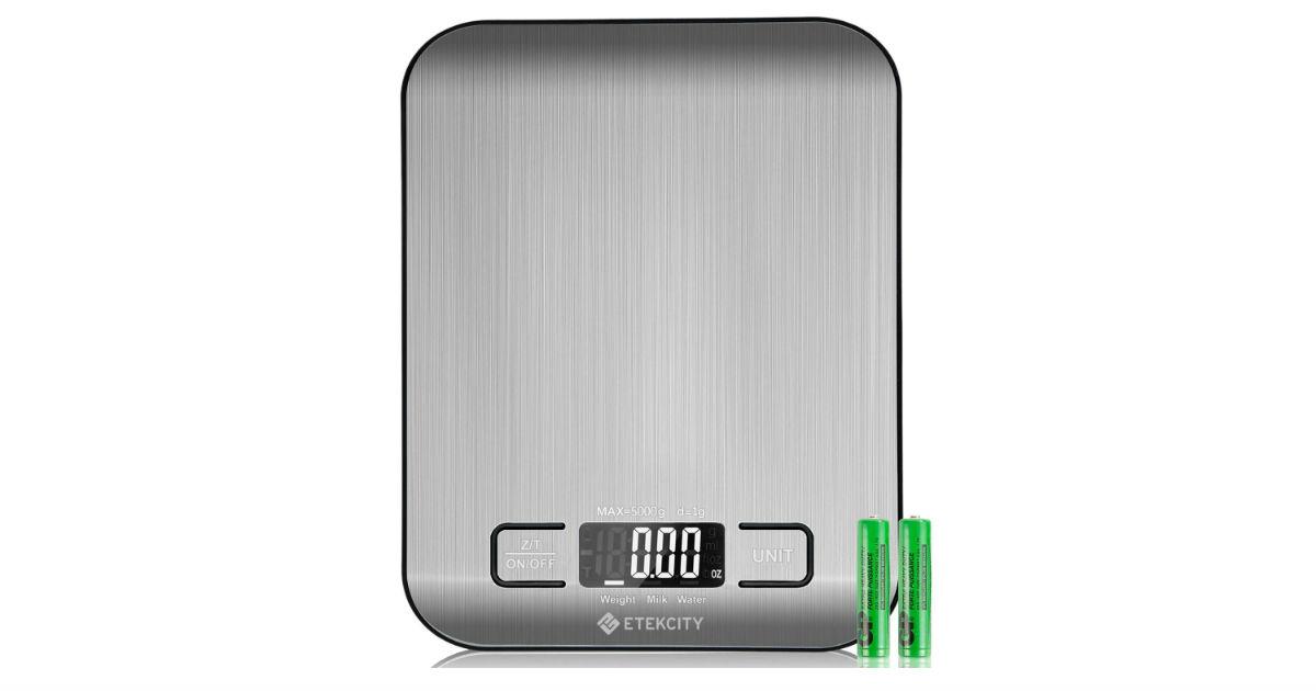 Etekcity Food Digital Kitchen Scale ONLY $9.59 (Reg. $19)