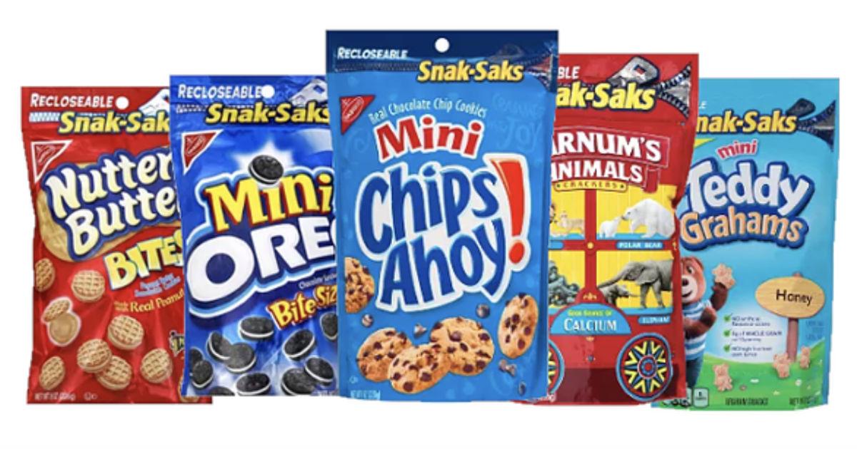 Nabisco Cookie Snak-Saks 50% Off (Reg $2.20) at Target
