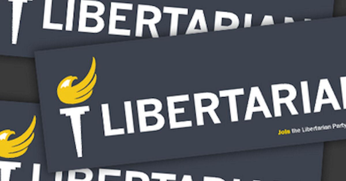 FREE Libertarian Bumper Sticke...
