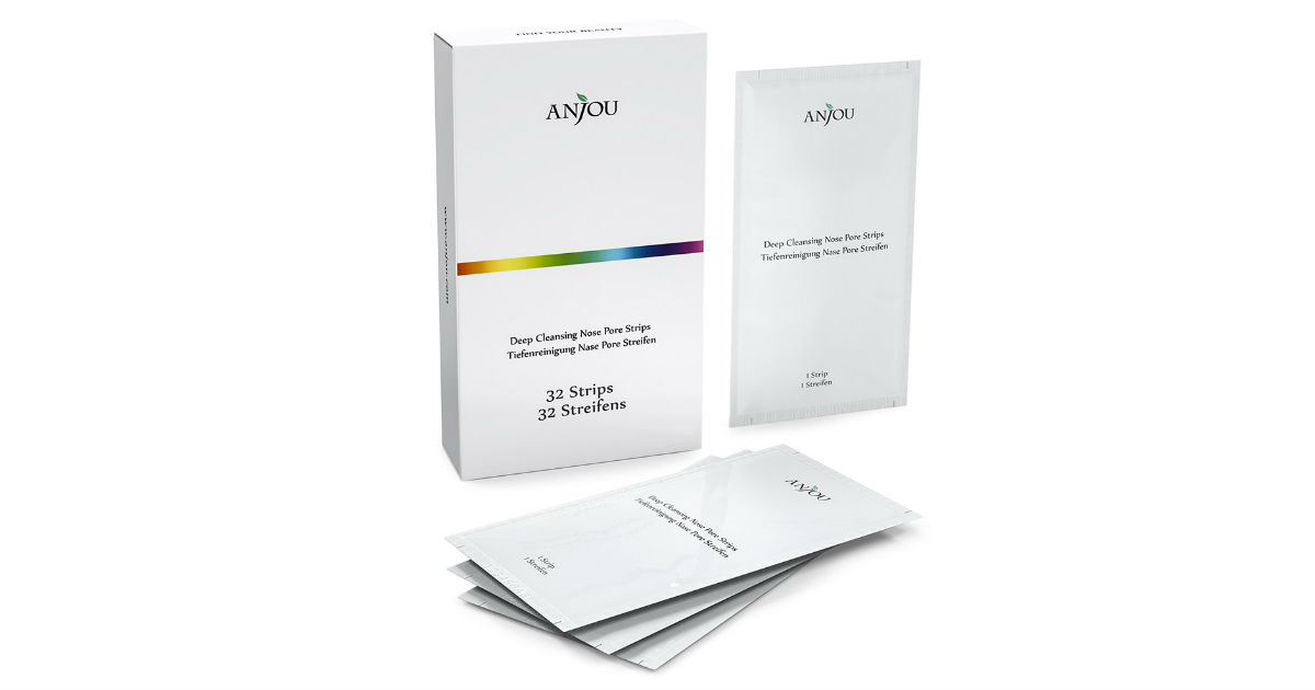 Anjou Blackhead Remover Pore Strips ONLY $9.29 (Reg. $20)