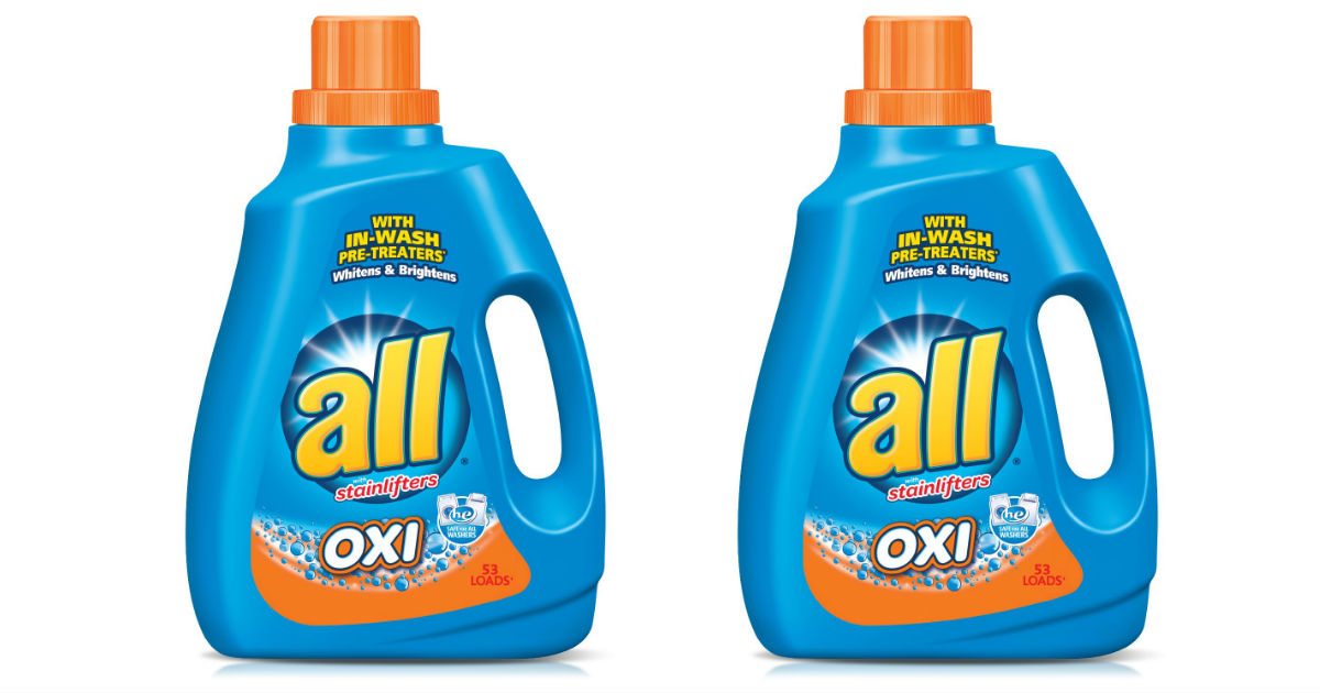 picture relating to All Laundry Detergent Printable Coupons known as All Laundry Detergent Basically $1.99 at CVS (Reg. $7.79