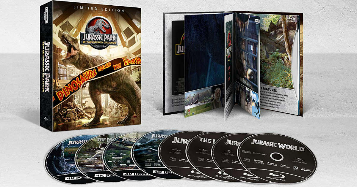 Save 60% on Jurassic Park 25th Anniversary Collection 4K