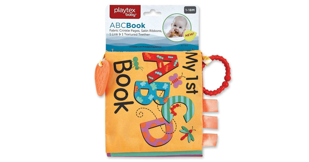Playtex Baby ABC Book ONLY $5.98 (Reg. $19)