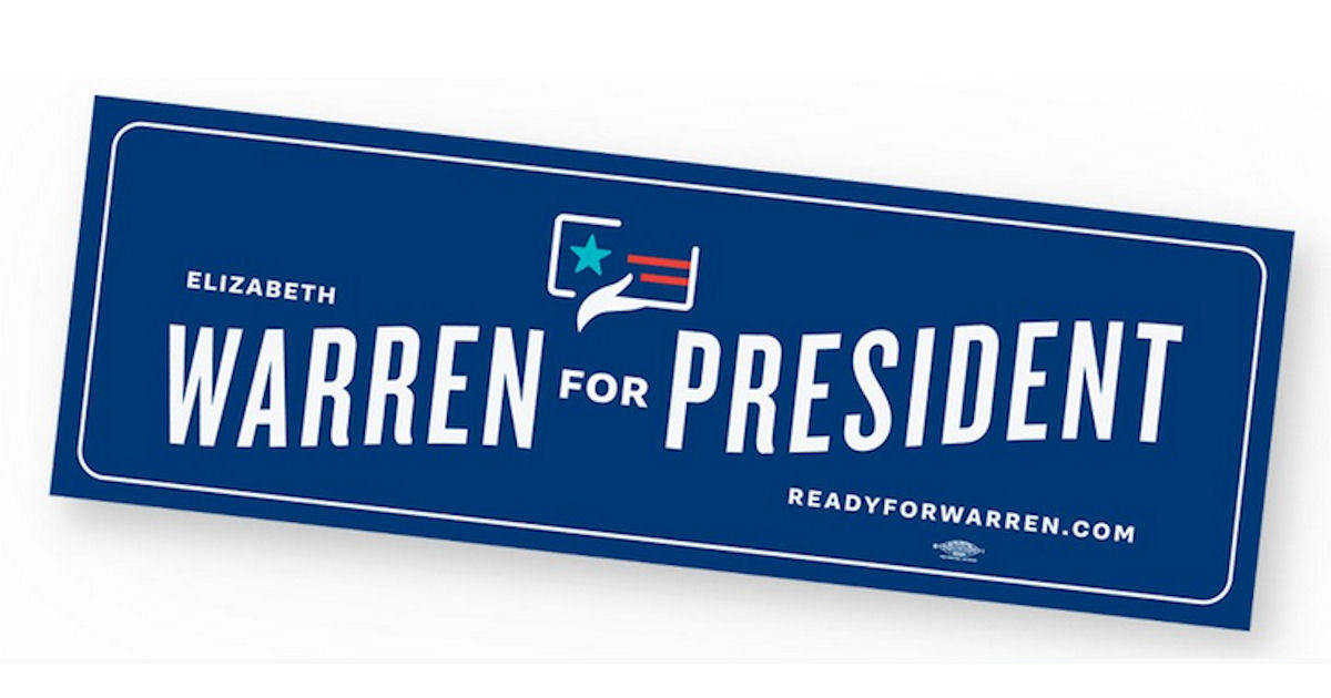 FREE Elizabeth Warren for Pres...