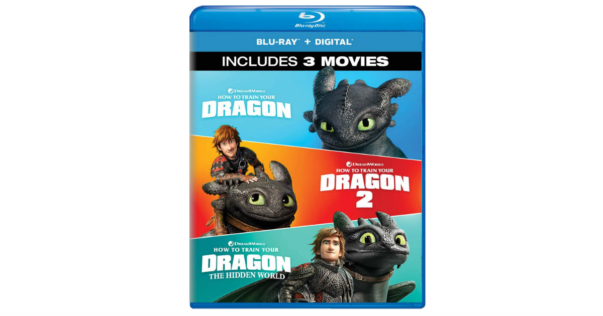 How To Train Your Dragon 3-Movie Collection $24.99 (Reg. $50)