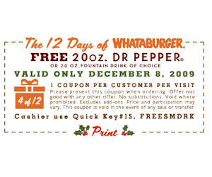 % Off Whataburger Products + Free P&P. Enter eBay coupon to get at the lowest price when adding code to your cart. Save big bucks w/ this offer: % off Whataburger products + Free P&P. Save on your favorite products.