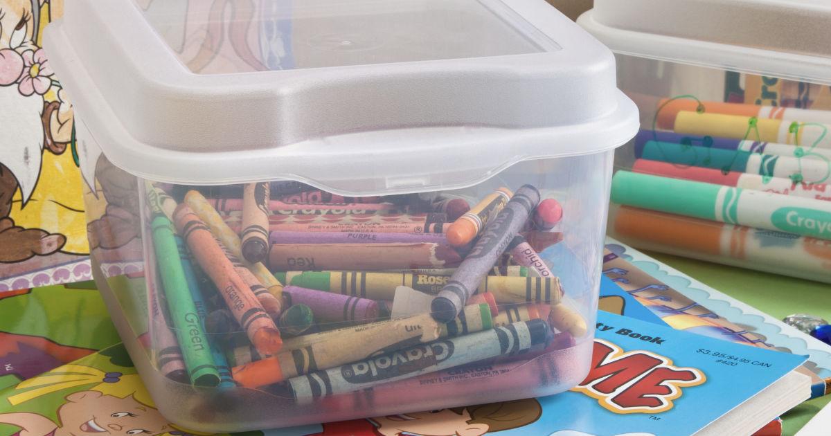 Sterilite Fliptop Box Clear Se...
